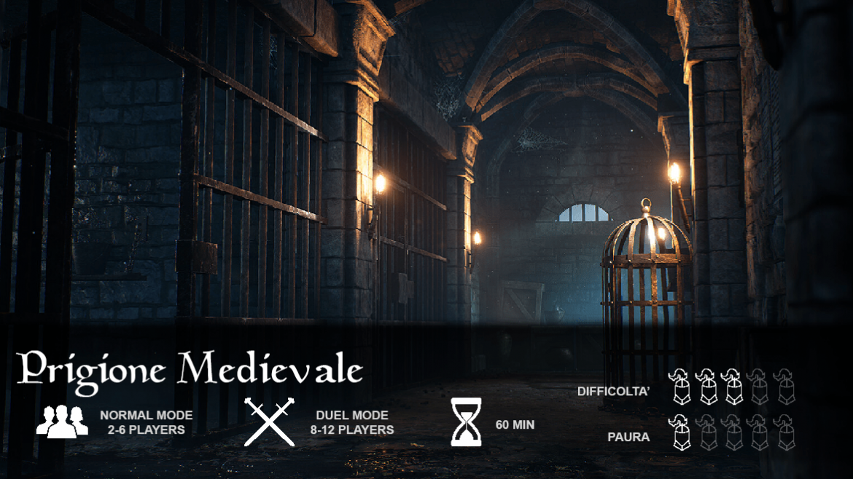 Fuga prigione medievale